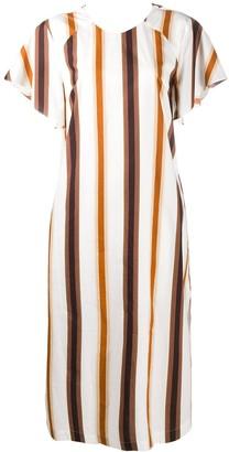 Baum und Pferdgarten Striped Short-Sleeve Dress