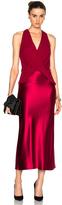 Dion Lee Silk Satin Twist Dress