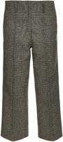 Edun Plaid wool trousers