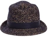 Tagliatore Chris Cotton And Wool Blend Hat