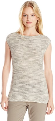 Jones New York Women's Size Boat-Neck Top