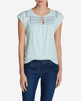 Eddie Bauer Women's Laurel Canyon Embroidered Top