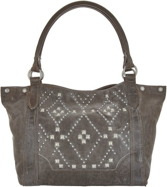 Frye Leather Melissa Stud Shoulder Bag