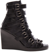 Ann Demeulemeester Leather Buckle Sandals
