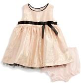 Frais Infant Girl's Shimmer Fit & Flare Dress