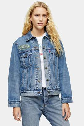 Levi's Womens Denim Trucker Jacket By X Star Wars - Multi