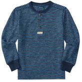 Ralph Lauren Boys 2-7 Striped Slub Jersey Henley