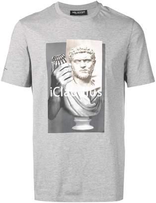 Neil Barrett iClaudius print T-shirt
