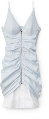 Alexander Wang Alexanderwang ruched zipper dress