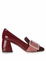 Miu Miu Block-heel patent-leather loafers