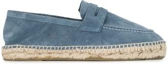Manebi Hamptons collapsible-heel loafer espadrilles