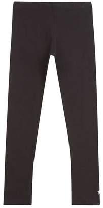 Mint Velvet Black Star Embroidery Leggings