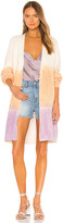 525 America Long Spray Dye Cardigan