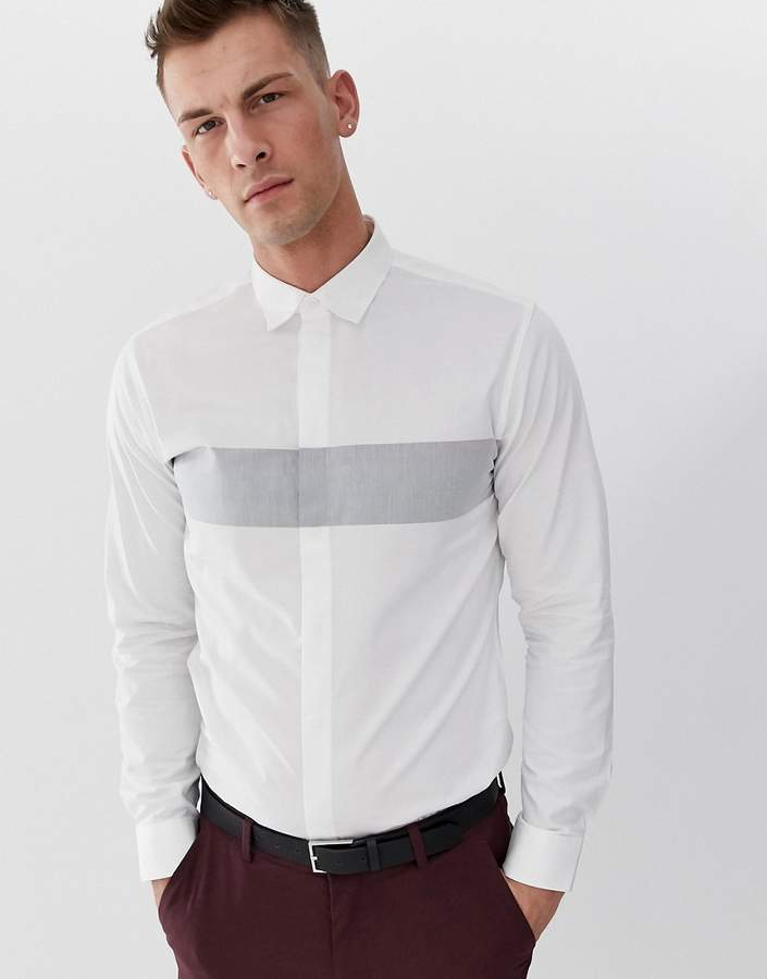 df9a24902 Concealed Placket Shirt - ShopStyle