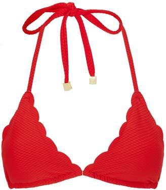 Heidi Klein Amoudi Bay Scalloped Bikini Top