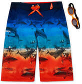 ZeroXposur Shark Fleet Swim Trunks - Boys 8-20