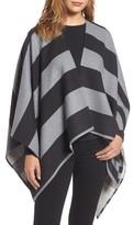 Burberry Women's Stripe Merino Wool Poncho