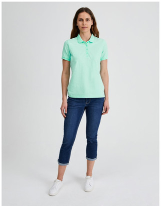 Regatta Short Sleeve Polo Tee in Mint