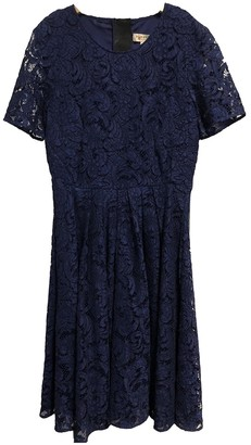 Burberry Navy Cotton Dresses