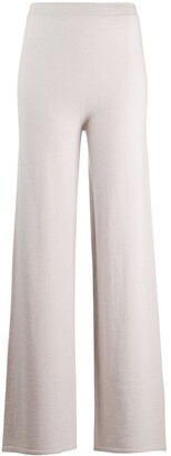 Gentry Portofino Cashmere-Blend Knitted Trousers