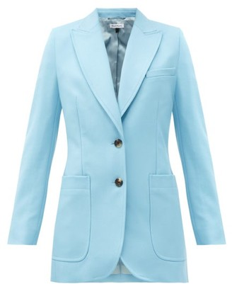 Bella Freud Saint James Wool Single-breasted Jacket - Blue