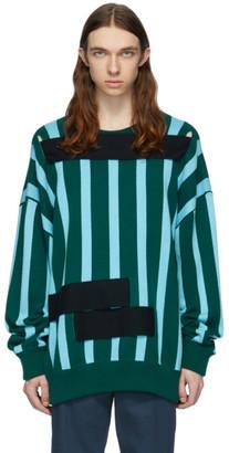 Namacheko Green and Blue Looyo Sweater