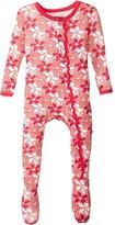 Kickee Pants Baby Girls Print Muffin Ruffle Footie Prd-kpmrf391-df