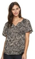 Apt. 9 Women's Flutter Sleeve Top