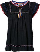 Ulla Johnson embroidered blouse - women - Silk - 2