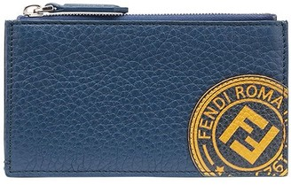 Fendi FF stamp patch card holder