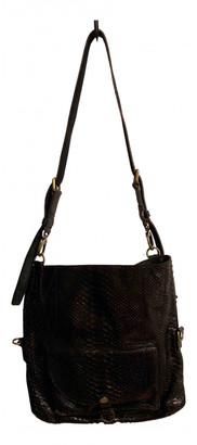 Ghibli Black Python Handbags