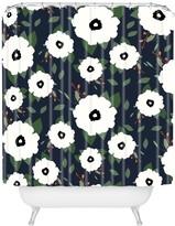 Deny Designs Allyson Johnson Floral Class Shower Curtain
