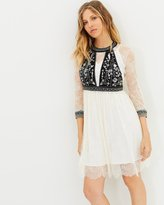 The Kooples Long Sleeved Lace Dress