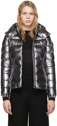 Moncler Silver Down Bady Jacket