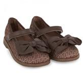 Fendi Leather Bow Mary Janes