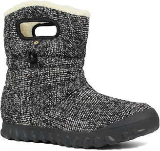 Bogs B Moc Woven Fleece Lined Mid Boot