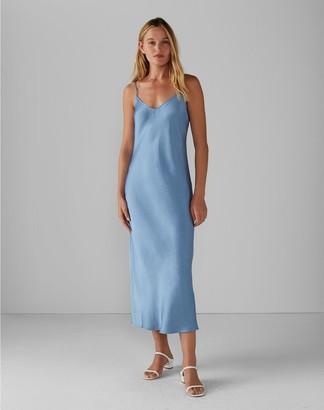 Club Monaco Shiny Slip Dress