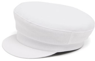Ann Demeulemeester Canvas Fisherman's Cap - Womens - White
