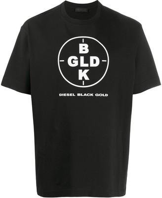 Diesel Black Gold graphic-print crew neck T-shirt