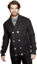 GUESS Men's Florence Shawl Cardigan