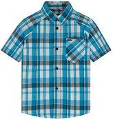 Hurley Toddler Boy Raglan Woven Plaid Button-Down Shirt