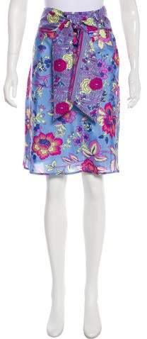6ac55b49c1 Tibi Skirt Silk - ShopStyle