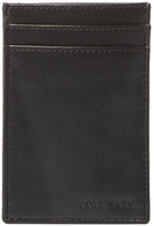 Cole Haan Leather 3-Slot Card Case/Money Clip