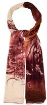 Jean Paul Gaultier Printed Multicolor Scarf