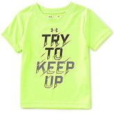 Under Armour Baby Boys 12-24 Months Try To Keep Up Short-Sleeve Graphic Tee