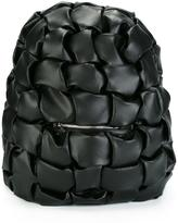 Comme des Garcons geometric embossed backpack