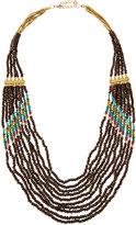 Nakamol Long Layered Seed Bead Necklace, Multi
