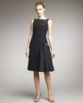 Carolina Herrera Silk Faille Dress