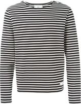 Ami Alexandre Mattiussi striped longsleeved T-shirt