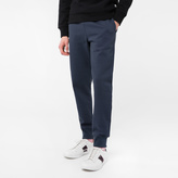 Paul Smith Men's Slate Blue Organic-Cotton Sweatpants
